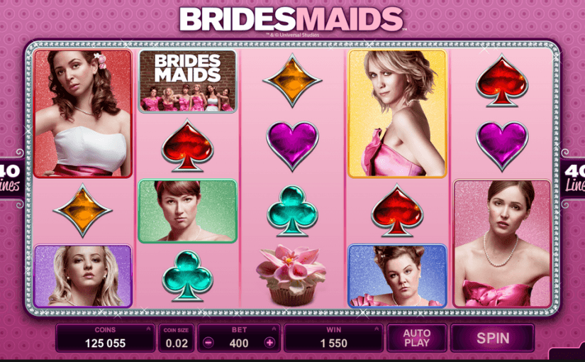 Play Bridesmaids slot online for free