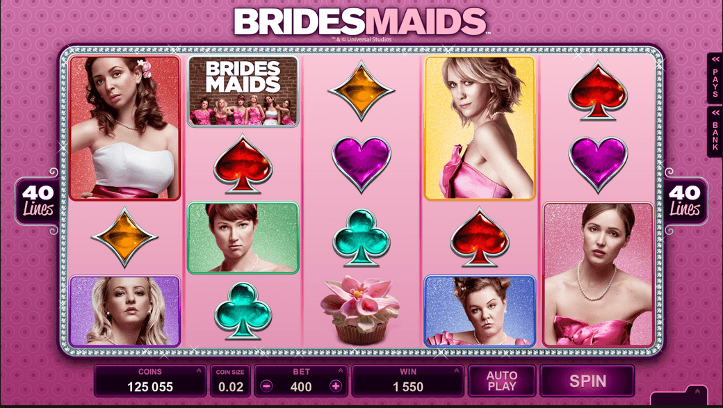 Bridesmaids Slot Machine by Microgaming – Play Now for Free