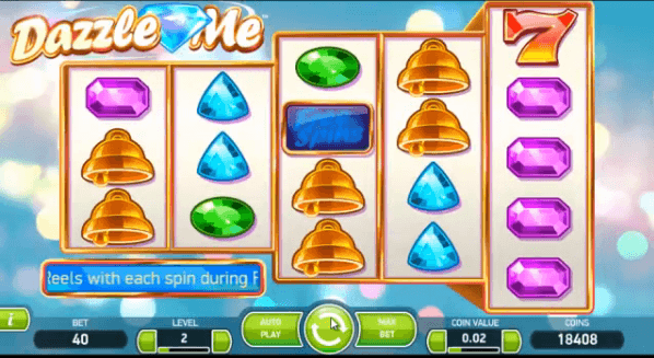 Dazzle Me - Play a dazzling slot