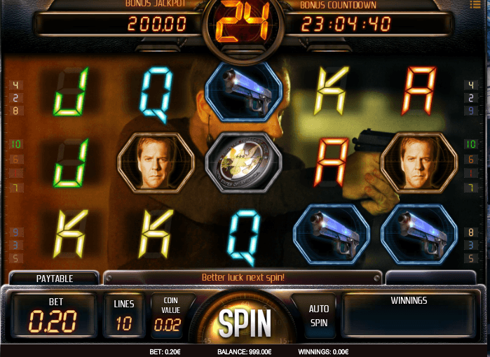 24 Online Video Slot