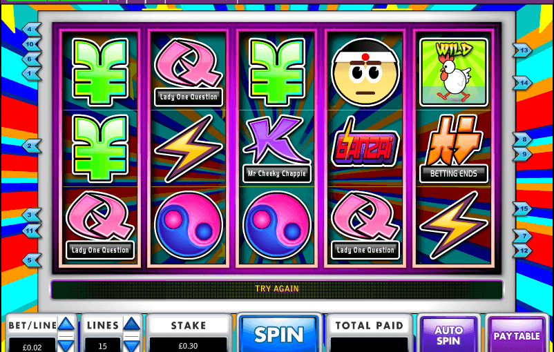 Play banzai Online Video Slot For Free