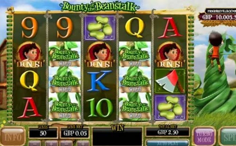 Play Bounty of the Beanstalk Online Video Slot For Free