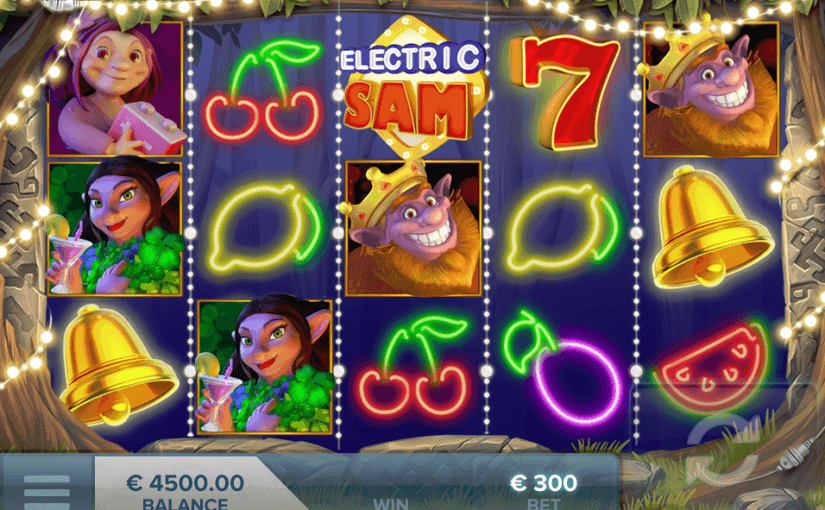 PLay Electric Sam Online Video Slot For Free