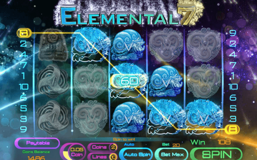 Play Elemental Online Video Slot For Free