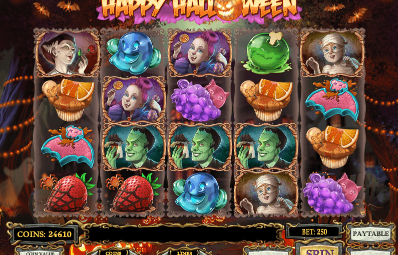 Play Happy Halloween Online Video Slot For Free