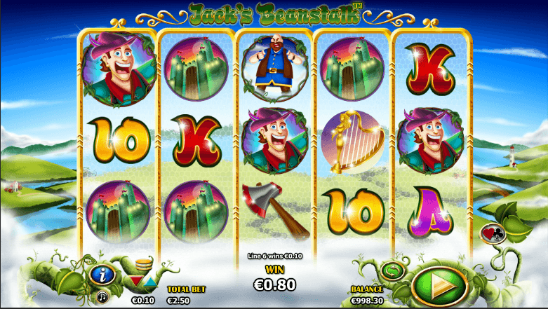 PLay Jacks Beanstalk Online Video Slot For Free