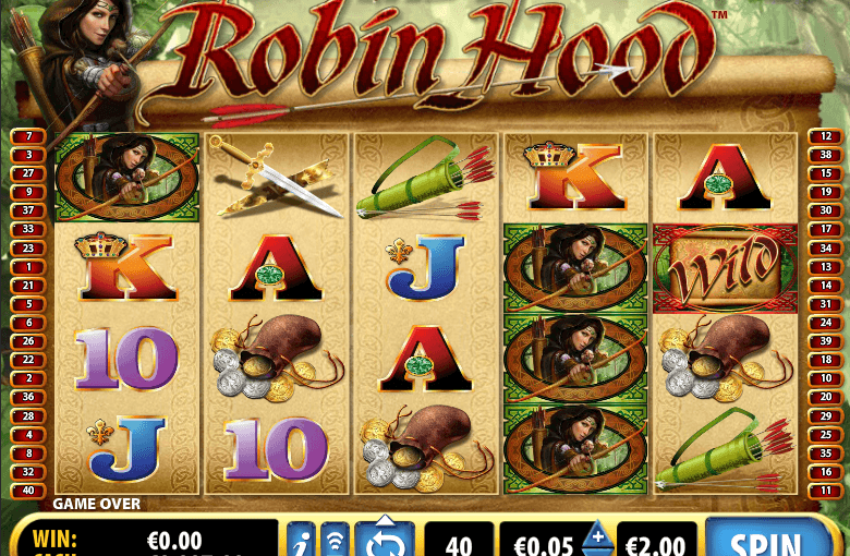 Play Lady Robin Hood Online Video Slot For Free