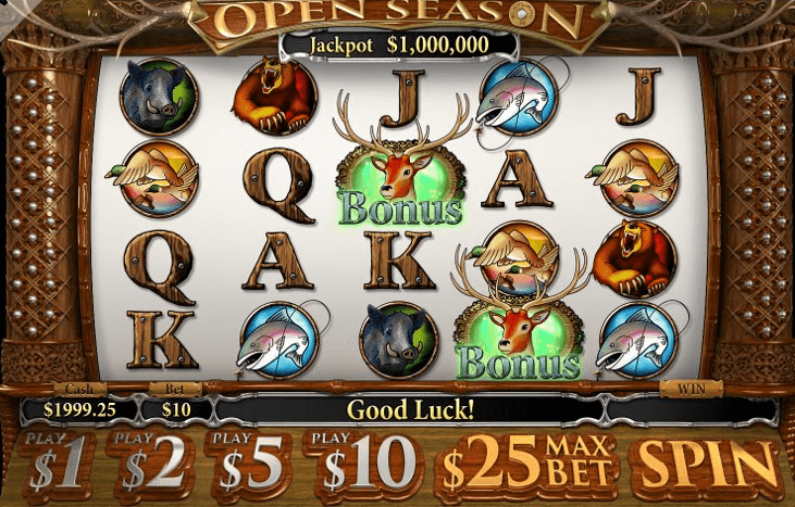 Play Open Season Online Video Slot For Free