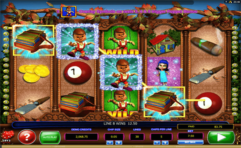 Play Pinocchios Fortune Online Video Slot For Free