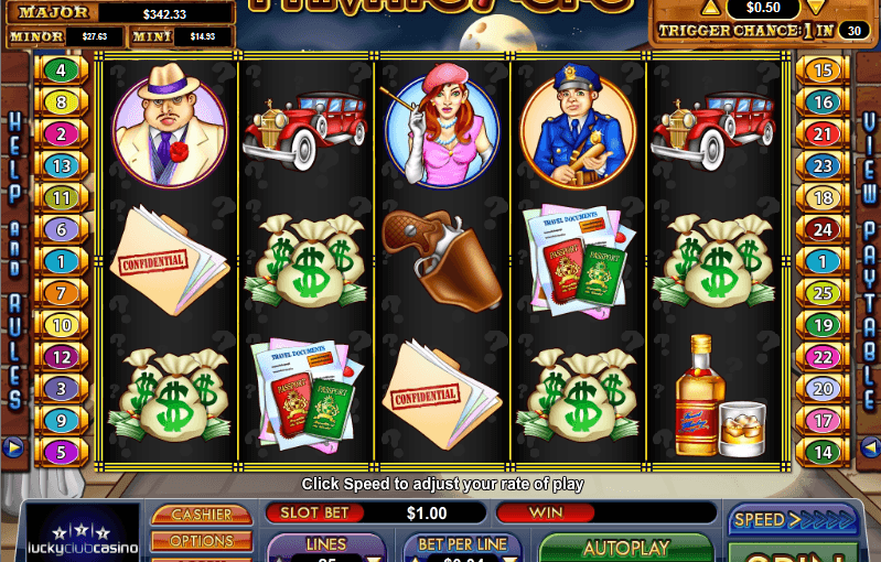 PLay Private Eye Online Video Slot For Free