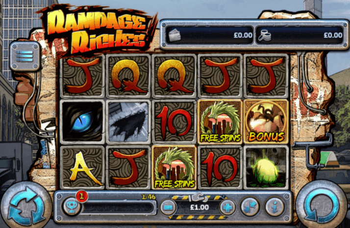 Play Rampage Riches Mobile Slot For Free