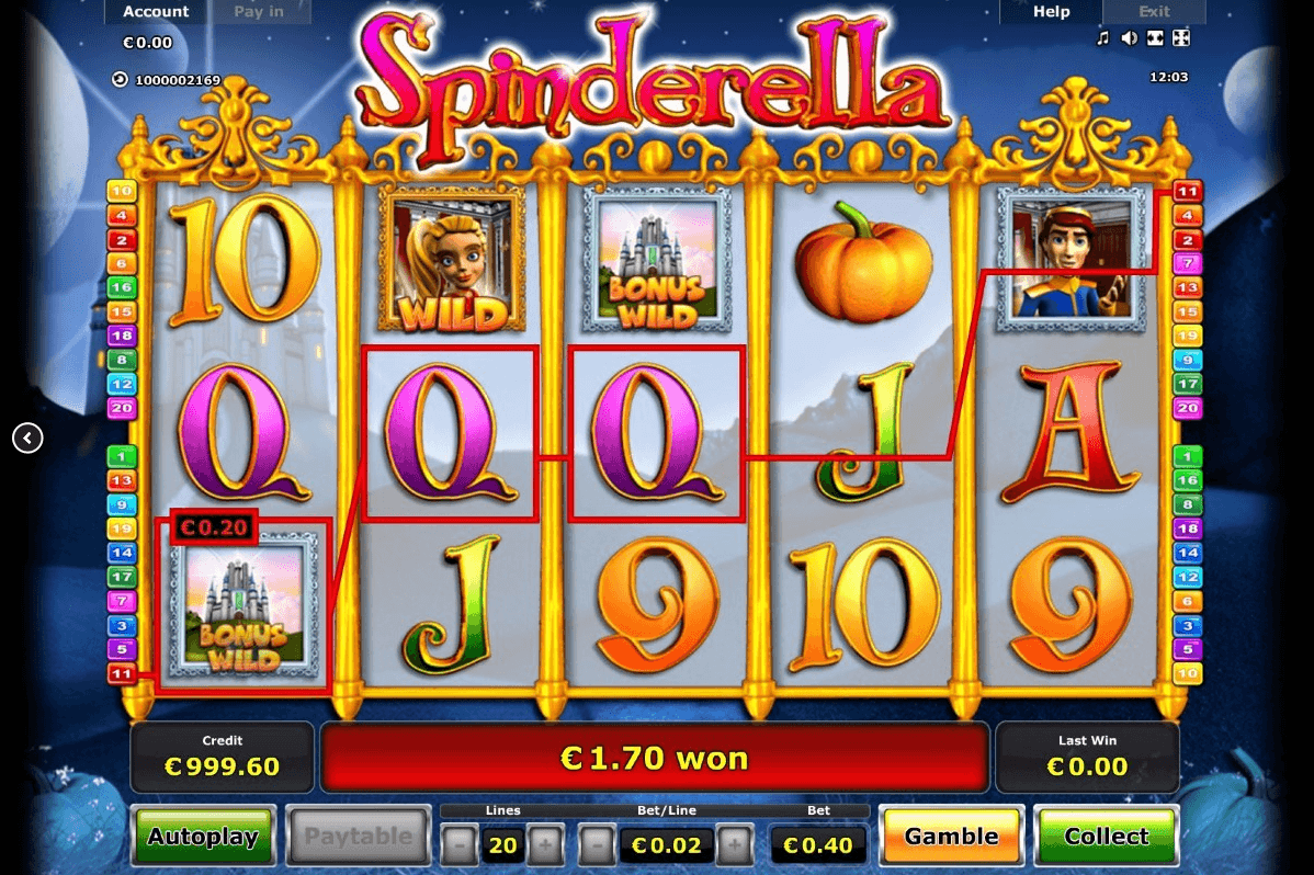 slot machine free online spinderella