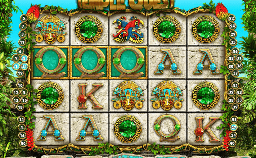 Play Temple Quest Online Video Slot For Free