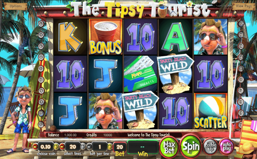 play the tipsy tourist slot for free