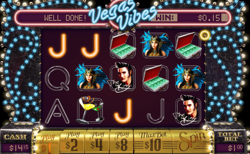 Play Vegas Vibes Online Video Slot For Free