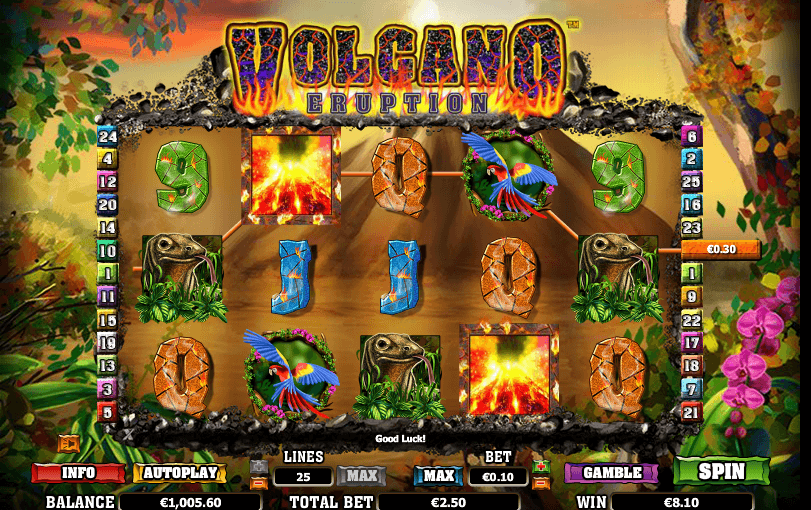 Play Volcano Eruption Online Slot For Free