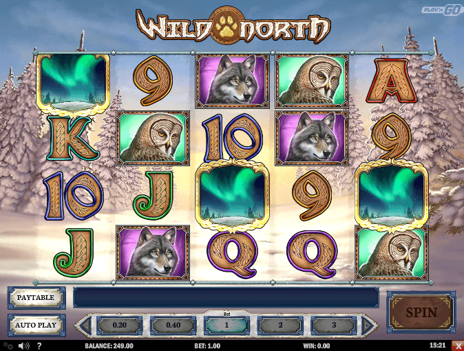 play wild north online slot for free