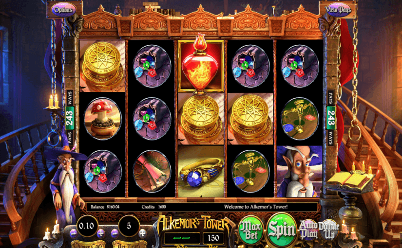 Play Alkemor's Tower Online Slot For Free