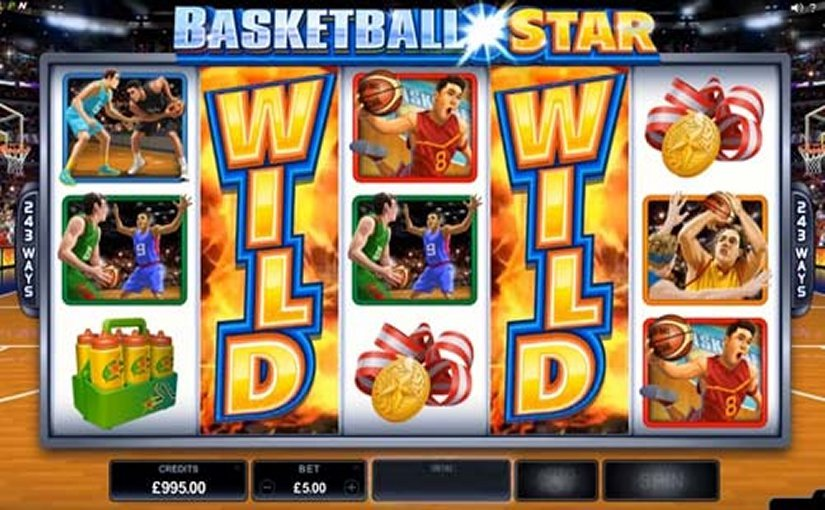 Basketball Star Slot - Now Available for Free Online
