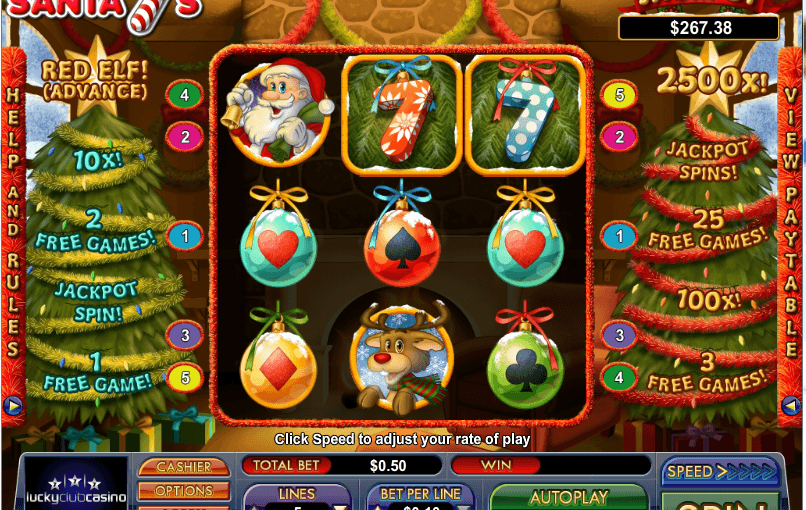 Play Santa 7's Online Slot For Free