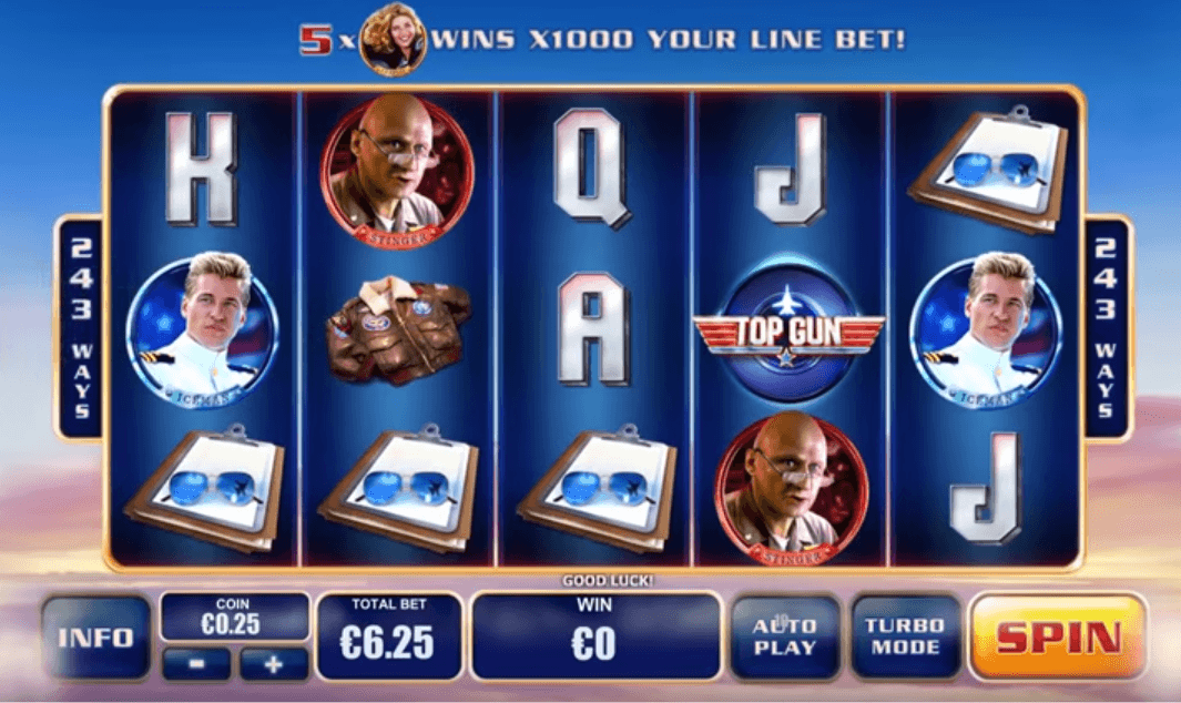 Top Gun Slots - Play IGT Top Gun Slot Game Online