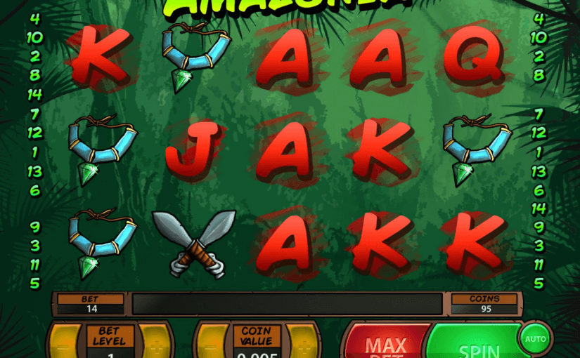 Play Amazonia Online Slot For Free