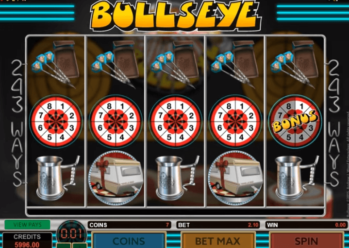 Play Bullseye Online Video Slot For Free