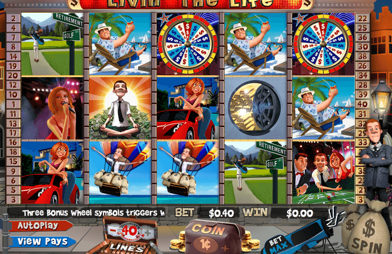 Play Livin Life online video slot for free