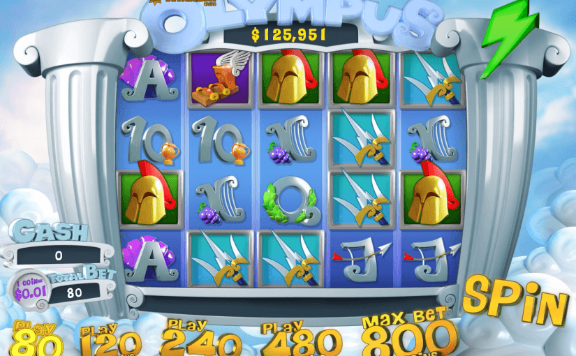 Play Olympus Online Video Slot For Free