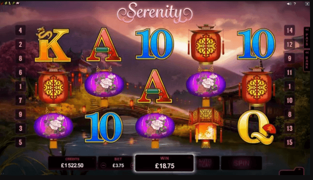 Play Serenity Online Slot For Free