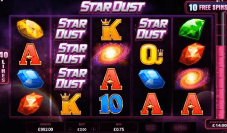 Satrdust Video Slot