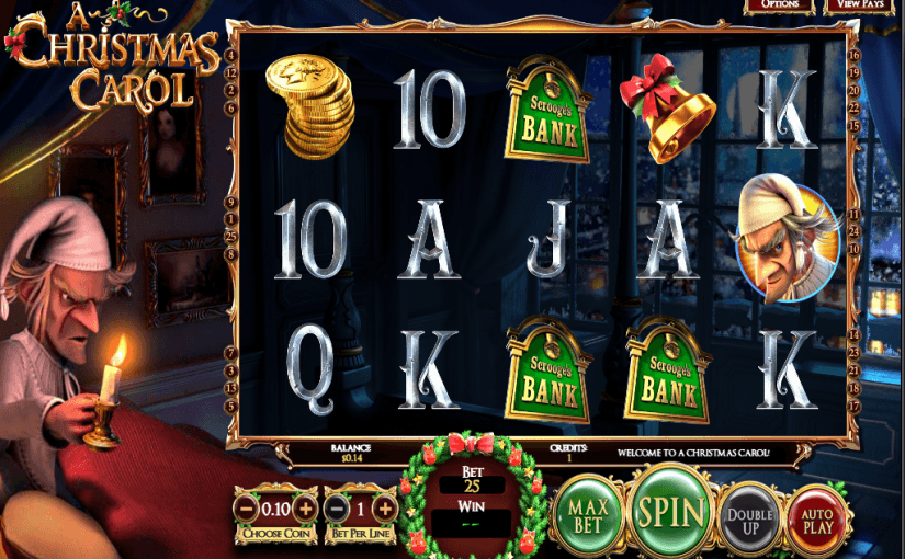 Play A Christmas Carol Online Slot For Free