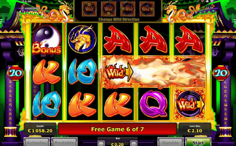 Play Dragon Wild's Fire Online Slot For Free
