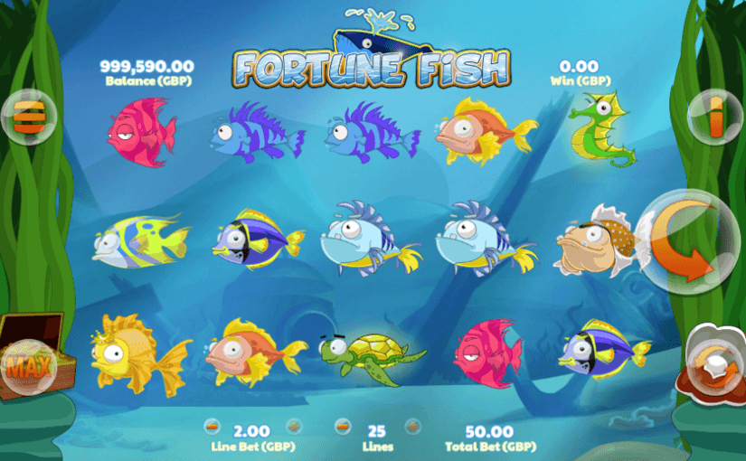 Play Fortune Fish Online For Free