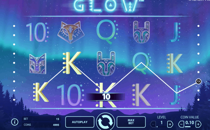 Play Glow Online Slot For Free