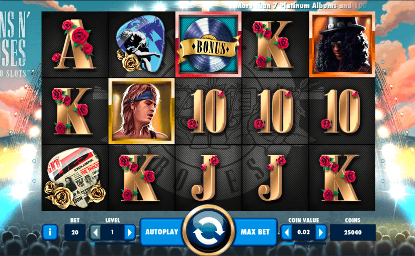 Play Guns N Roses Online Slot For Free