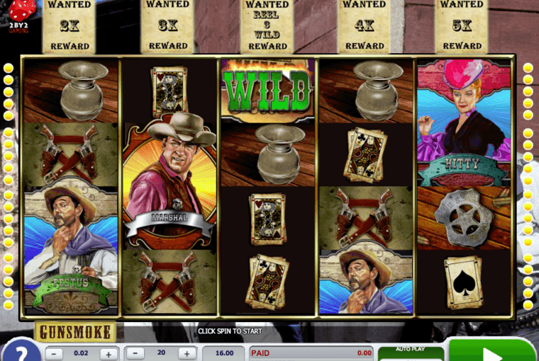 Play Gunsmoke Online Slot For Free