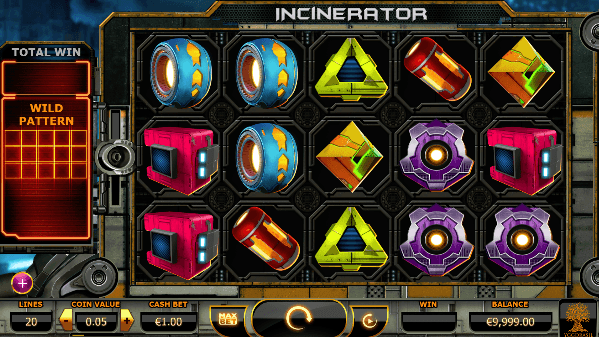 Play Incinerator Online Video Slot For Free