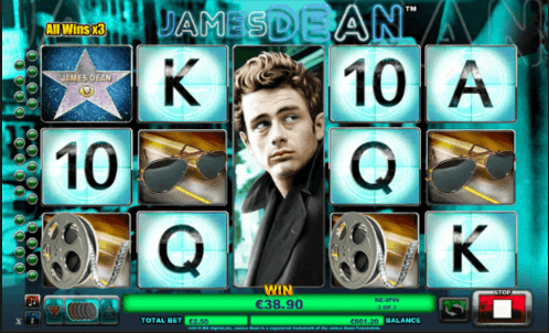 Play James Dean Online Slot