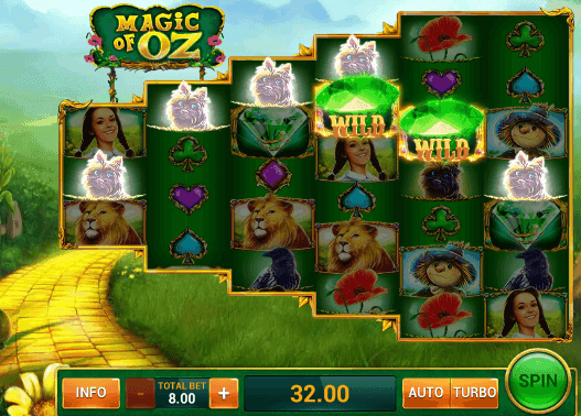 Play Magic Of Oz Slot Online For Free