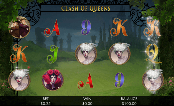 Play Clash Of Queens Video Slot For Free