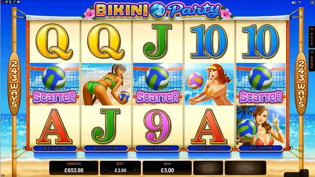 PLay Bikini Party Online Slot For Free
