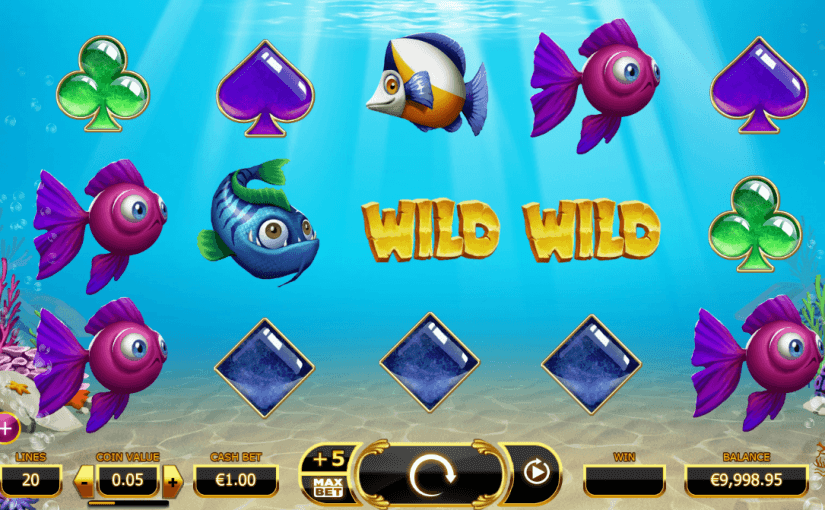 Play Golden Fish Tank Online Video Slot For Free