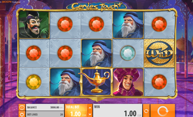 Play Genies Touch Online Slot For Free