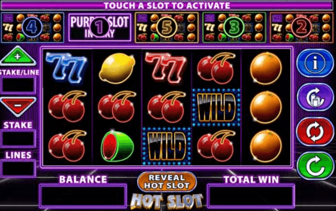 slots to play online sizling hot