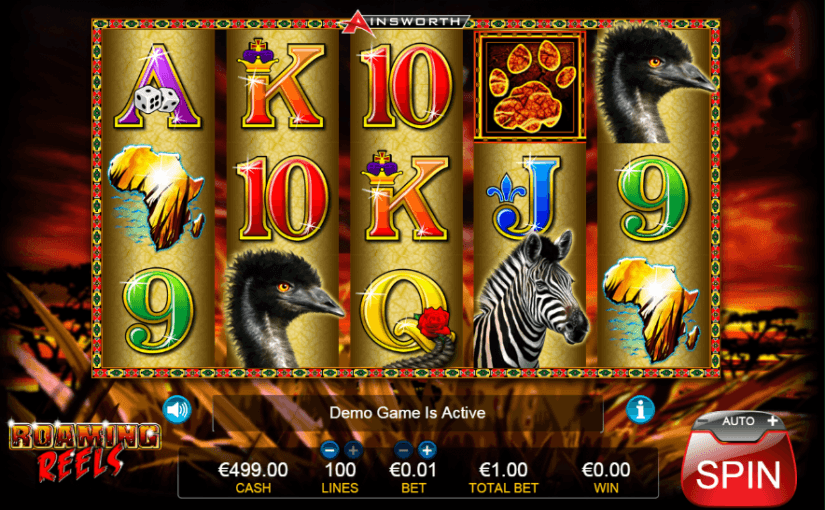 Play roaming reels online video slot for free