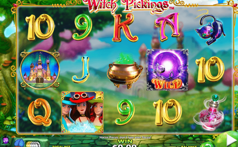 Play Witch Pickings Online Slot For Free