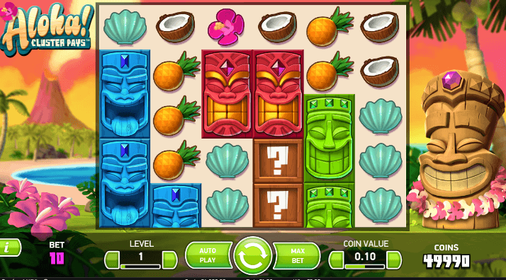 Play Aloha Cluster Pays Online Slot For Free