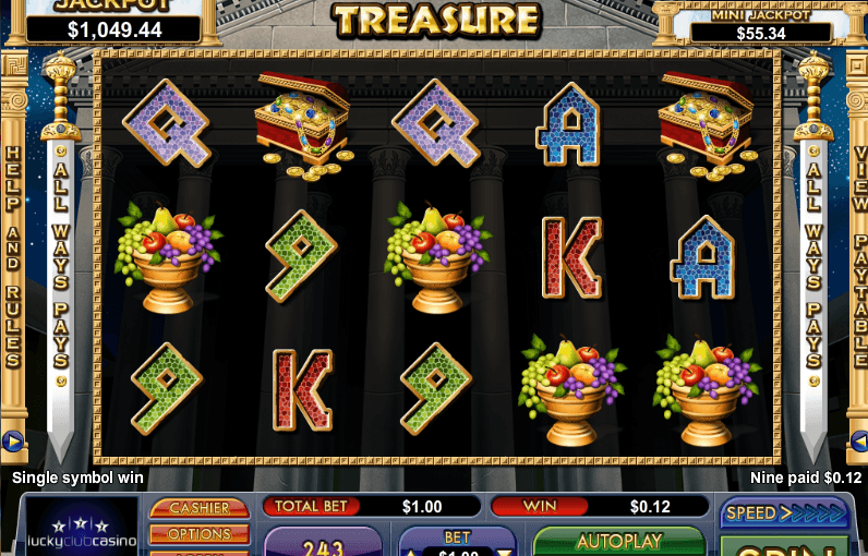 Play Caesars Treasure Online Slot For Free
