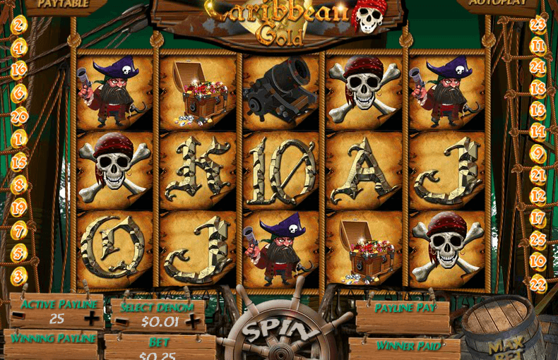Caribbean Gold Slot - Free Online Casino Game by WGS